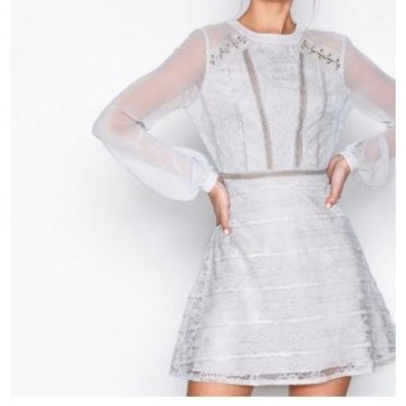 17922c7dbdd8 Topshop Dresses   Lace Up Shoulder Mini Dress   Poshmark